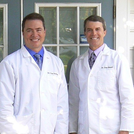 Newark dentists Dr. Timothy D. Ganfield and Dr. Donald T. Bond