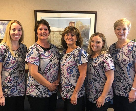 The White Clay Dental Associates team