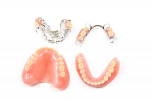 full and partial dentures in Newark